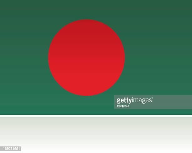 southern asian flag: bangladesh - bangladesh stock illustrations