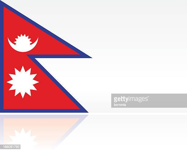 Southern Asian Flag: Nepal