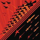 Soviet art propaganda poster