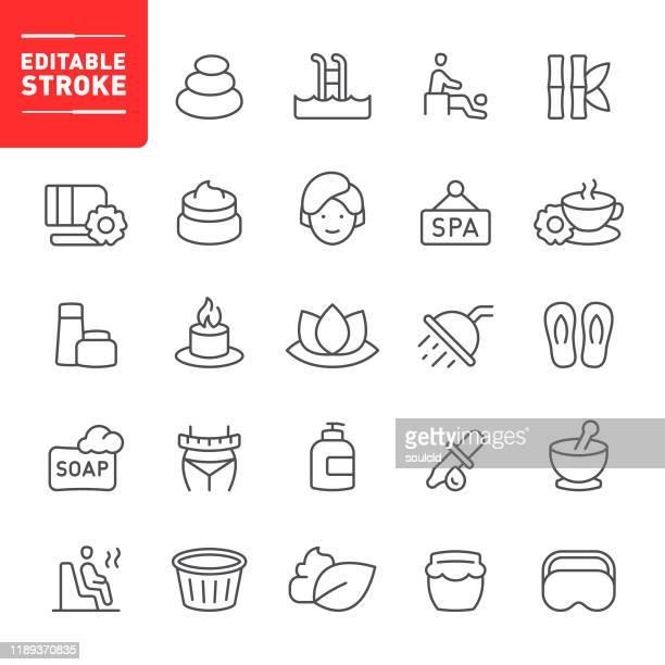 スパアイコン - アロマテラピー点のイラスト素材/クリップアート素材/マンガ素材/アイコン素材