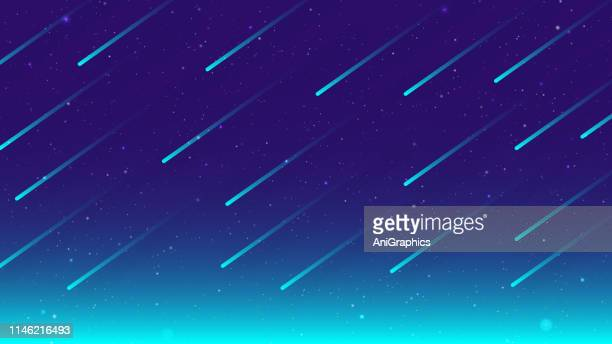 space background - meteor stock illustrations