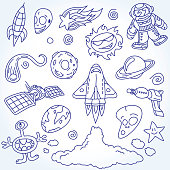 Space Doodles Set