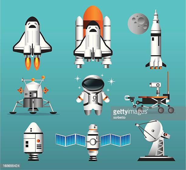 Space Exploration Icon Set