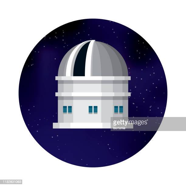 space observatory icon - observatory stock illustrations