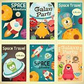 Space Posters Set