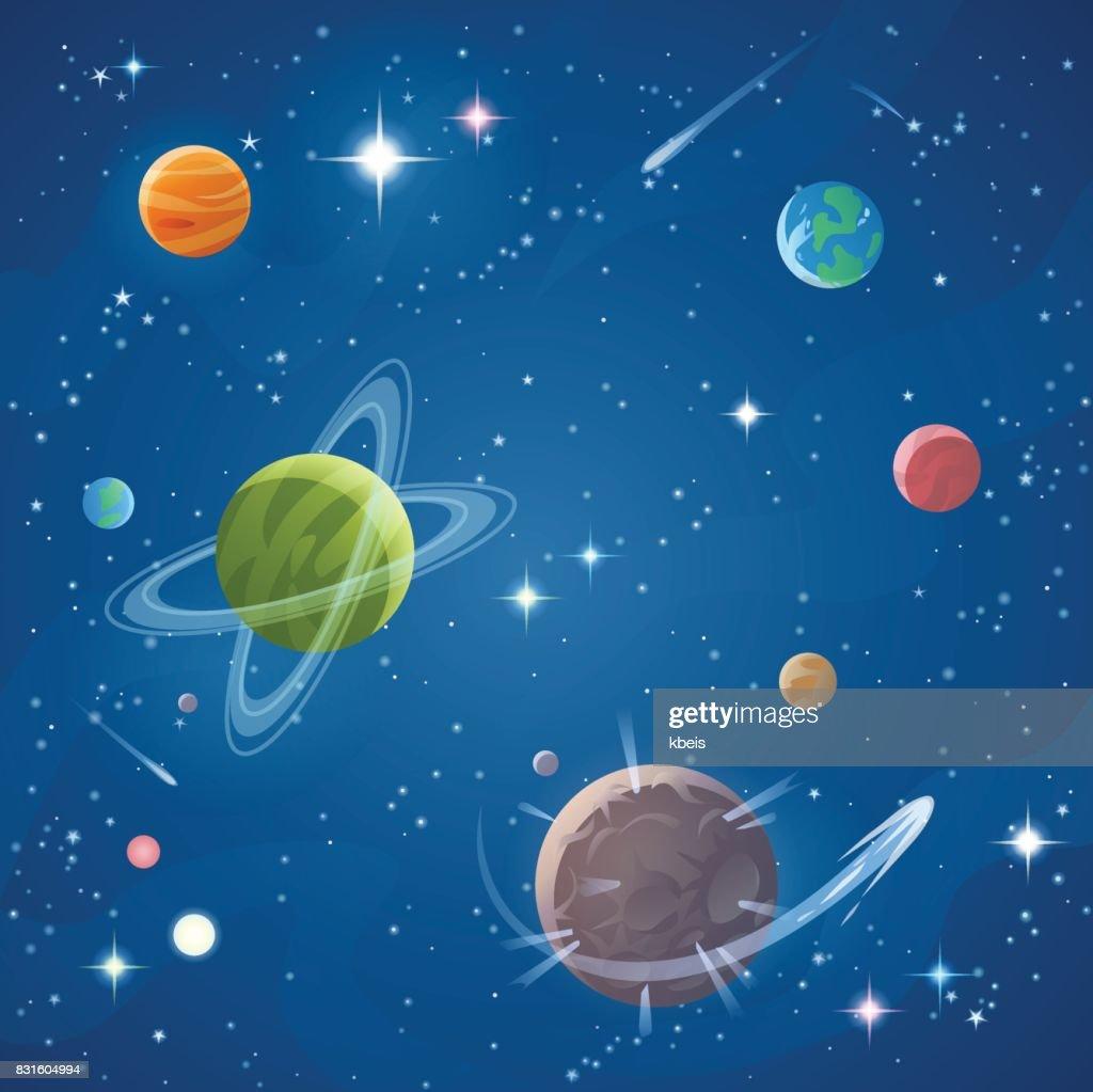 Space : stock illustration