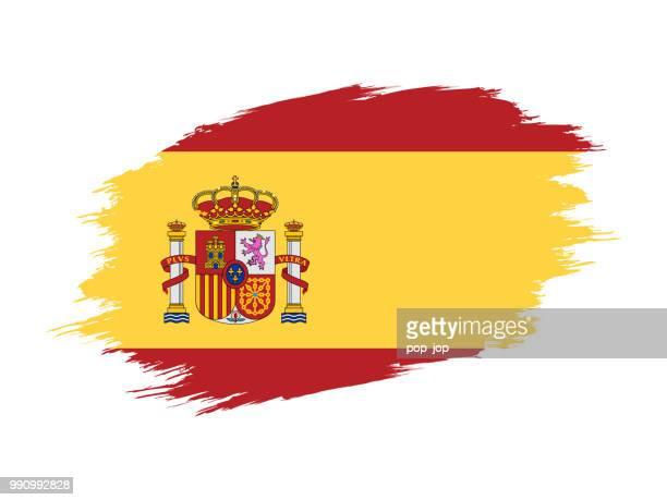 760 Bildbanksillustrationer Clipart Teckande Materialet Och Ikoner Med Spaniens Flagga Getty Images