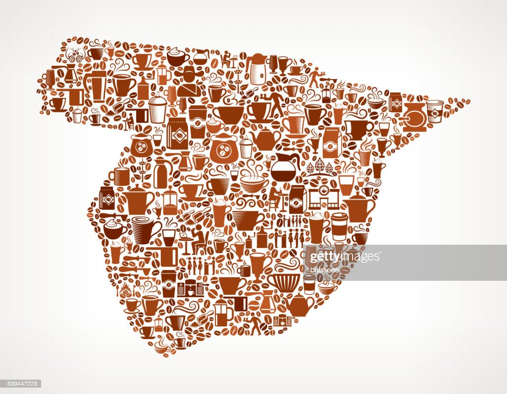 Map Of Spain Vector Free.Spain Map Royalty Free Vector Coffee Background Graphic Stock