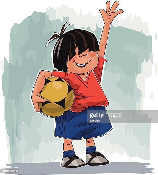 Spanish young fan