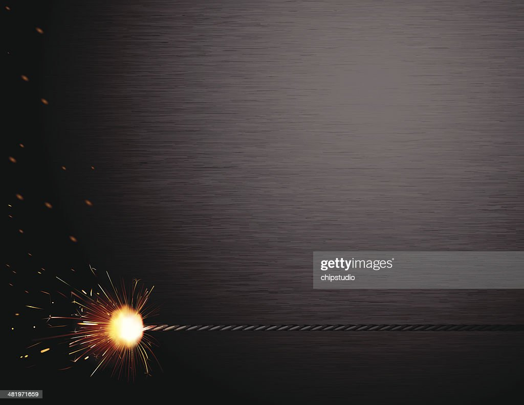 Spark Brushed Steel : stock illustration
