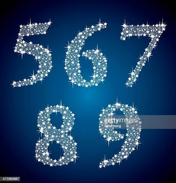 Sparkle Diamond-Nummern