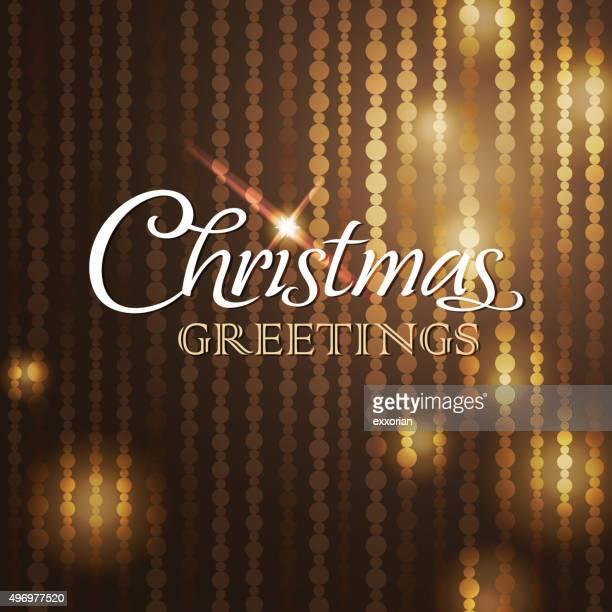 sparkling christmas greetings - blink stock illustrations, clip art, cartoons, & icons