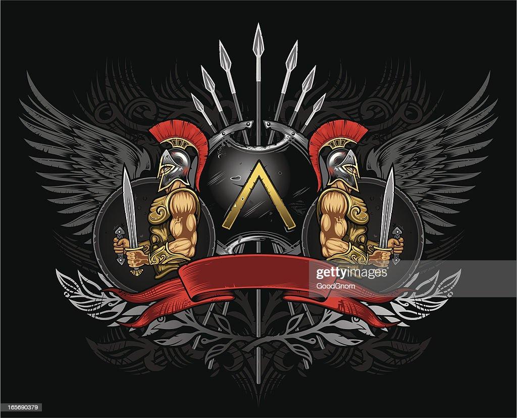 sparta shield