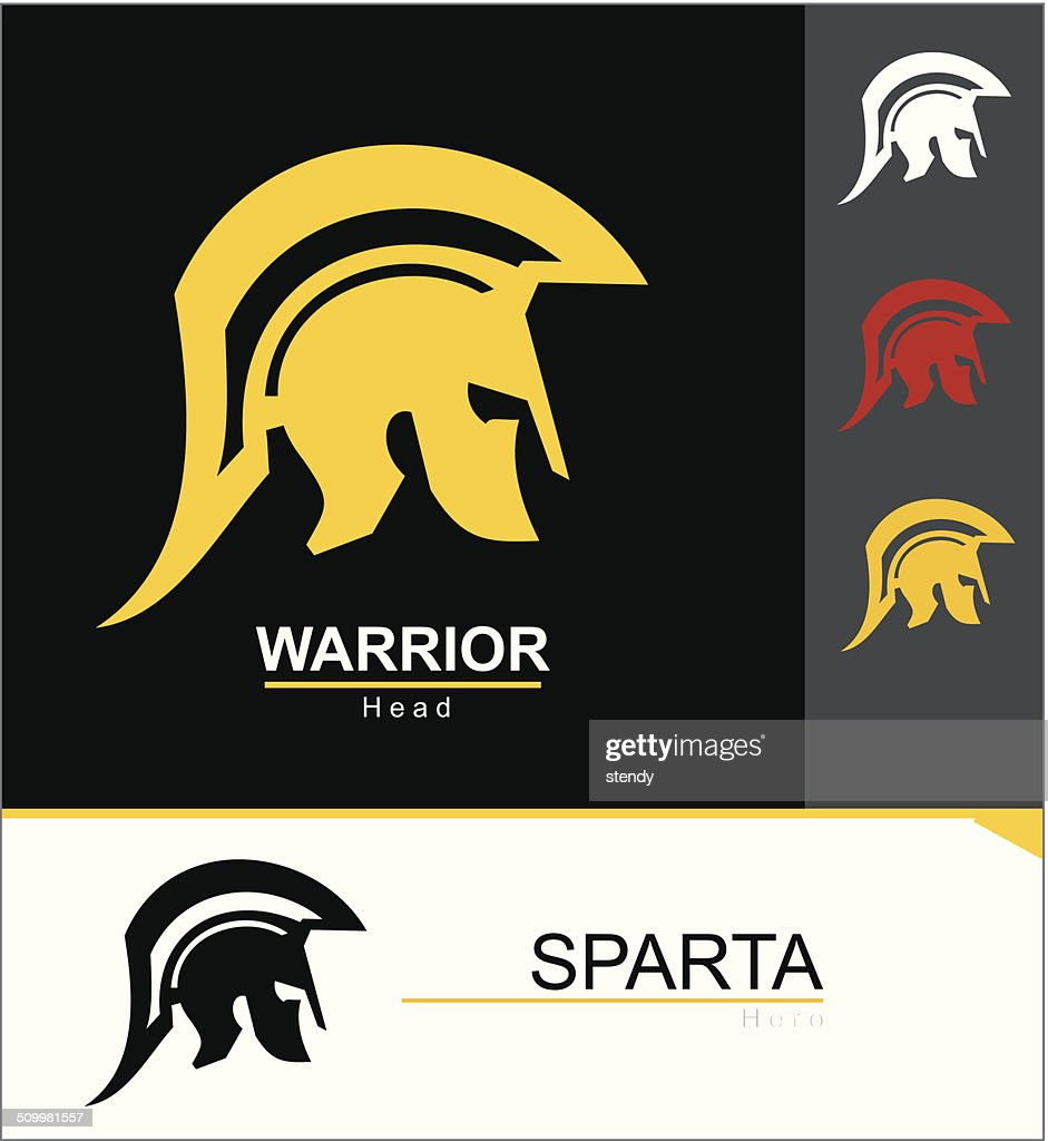 Sparta warrior helmet