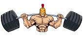 Spartan Gym Mascot Grit