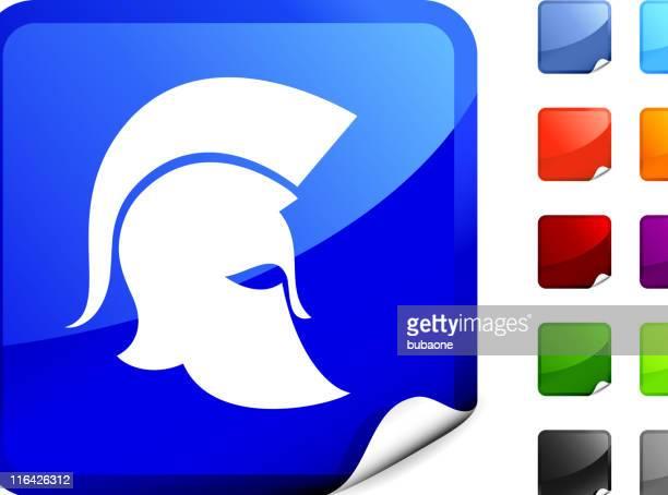 spartan military helmet internet royalty free vector art - sparta greece stock illustrations, clip art, cartoons, & icons