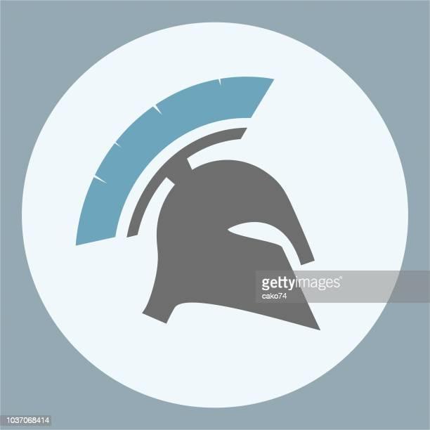Spartan military helmet