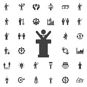 Speaker man Icon.