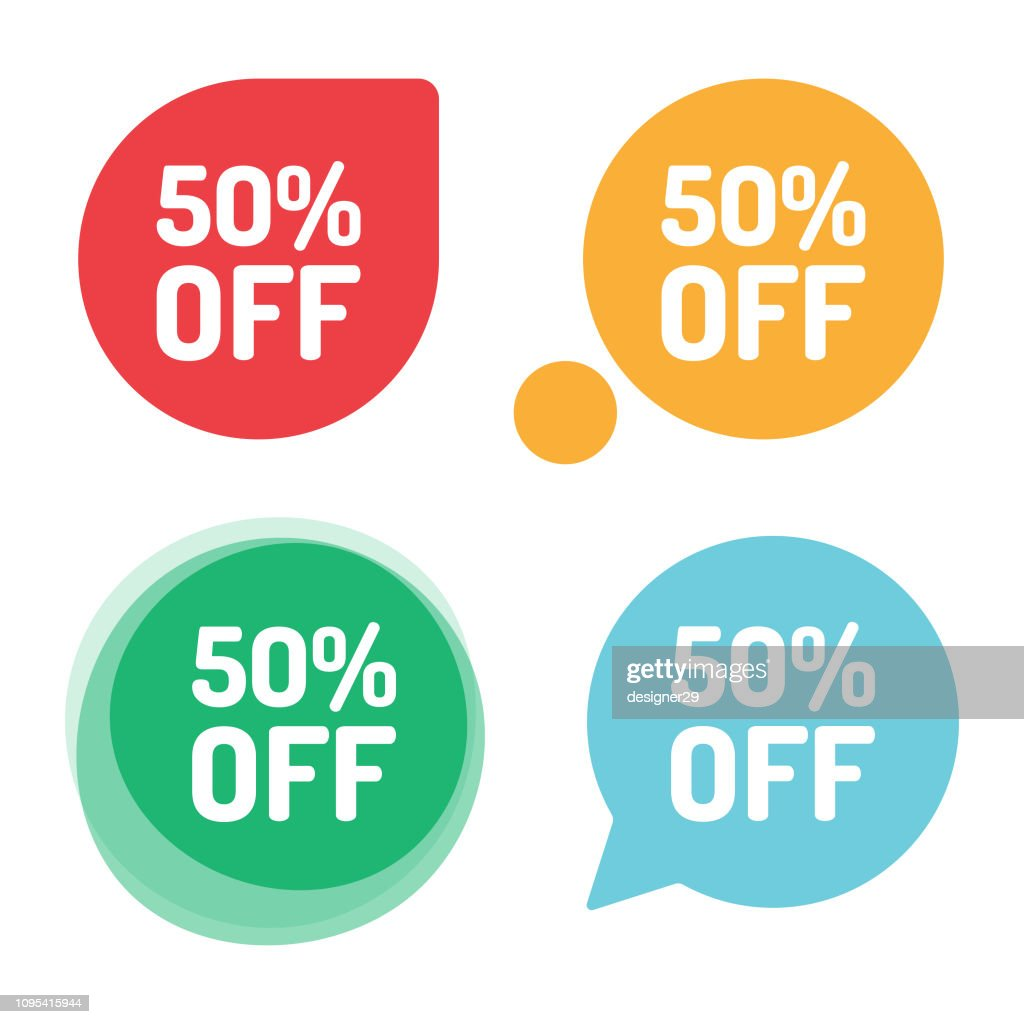 Special Offer Sale Tag Discount Offer Price Label And Flat Design High Res Vector Graphic Getty Images