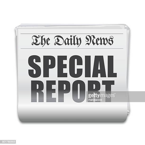 Special report headline