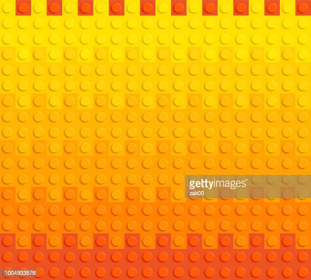 spectrum backgrounds puzzle toy seamless - bloco stock illustrations