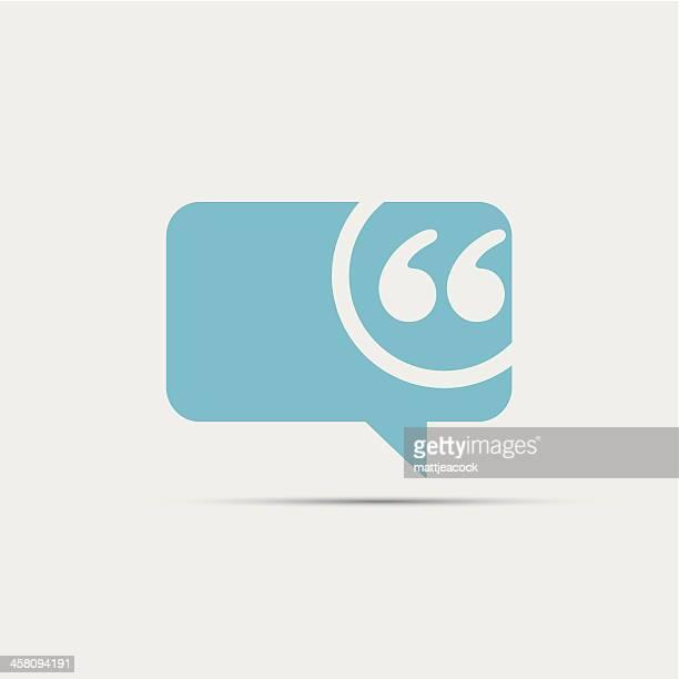 speech bubble icon - speech stock illustrations