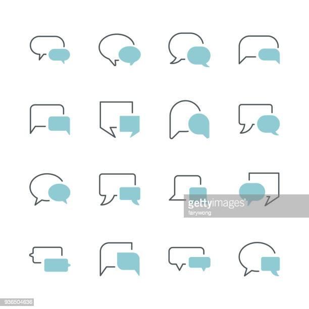 illustrations, cliparts, dessins animés et icônes de bulle de dialogue icônes - bulle bd