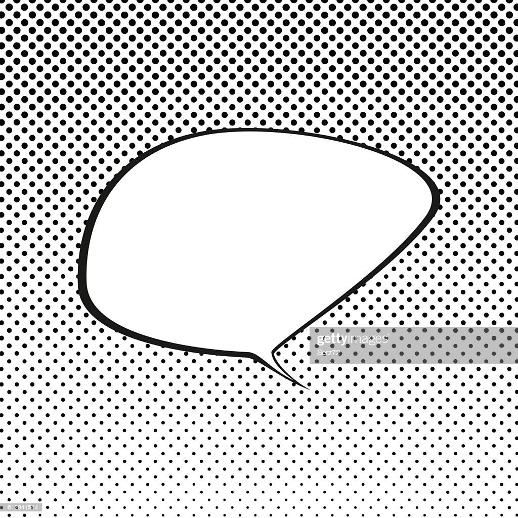 Speech Bubble ,Pop Art Background
