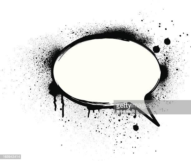 Speech Bubble Splatter