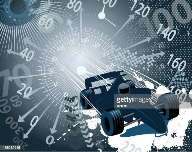 ilustrações, clipart, desenhos animados e ícones de velocidade backround de carro de corrida - carro de corrida
