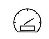 speed icon illustration vector,speed line icon illustration design