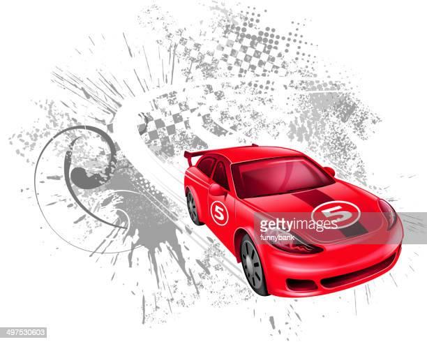 Velocidad de coche de carreras