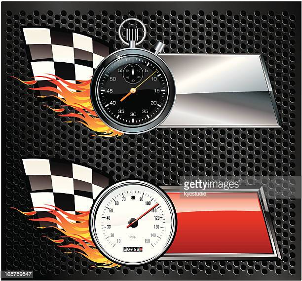 Speed Racing banners