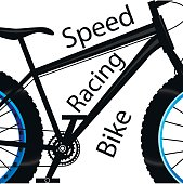 Speed racing bike