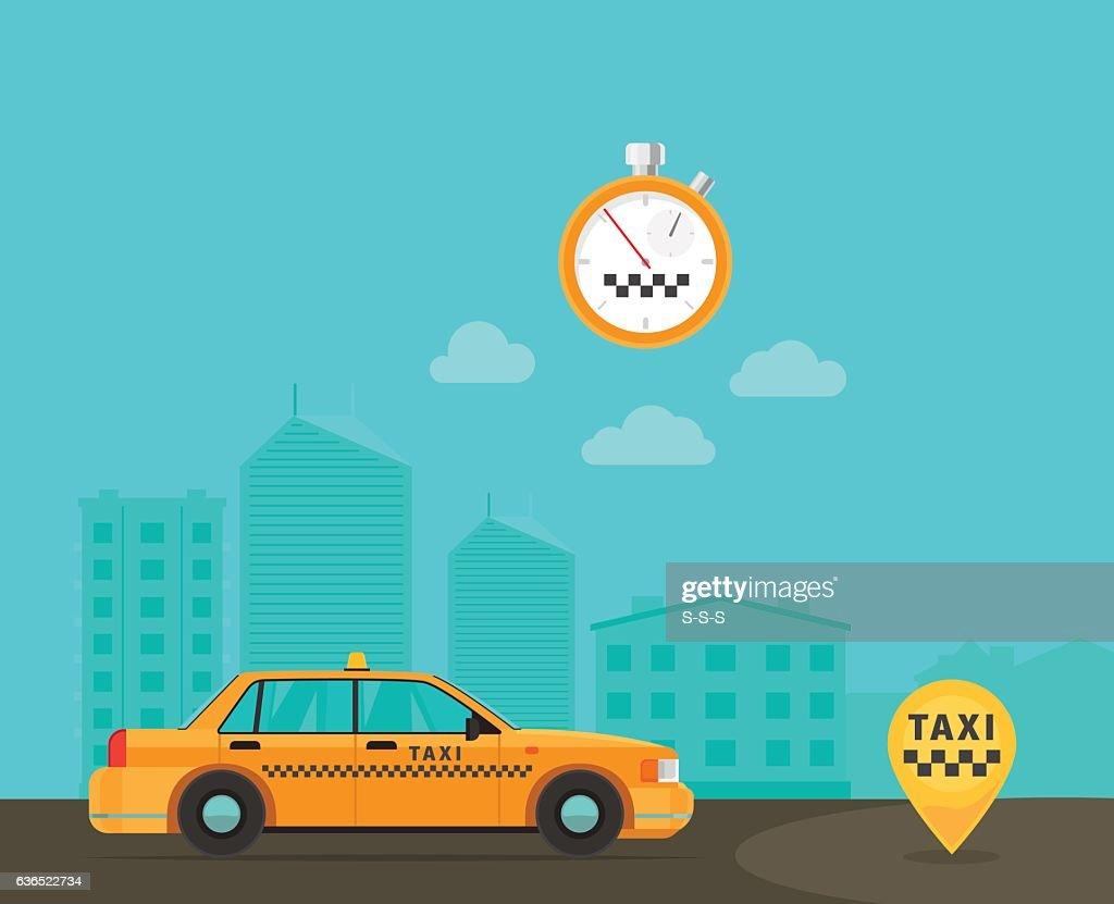 Speed taxi transportation service