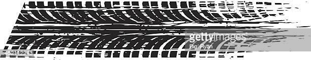 ilustrações, clipart, desenhos animados e ícones de velocidade de ranhura - skidding