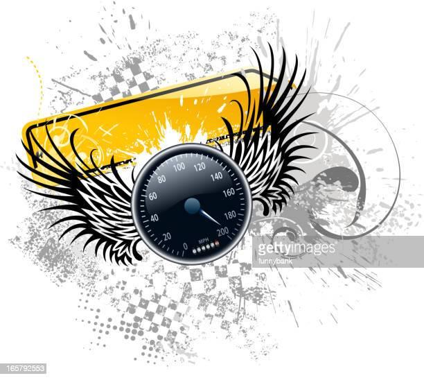 speed wing speedometer
