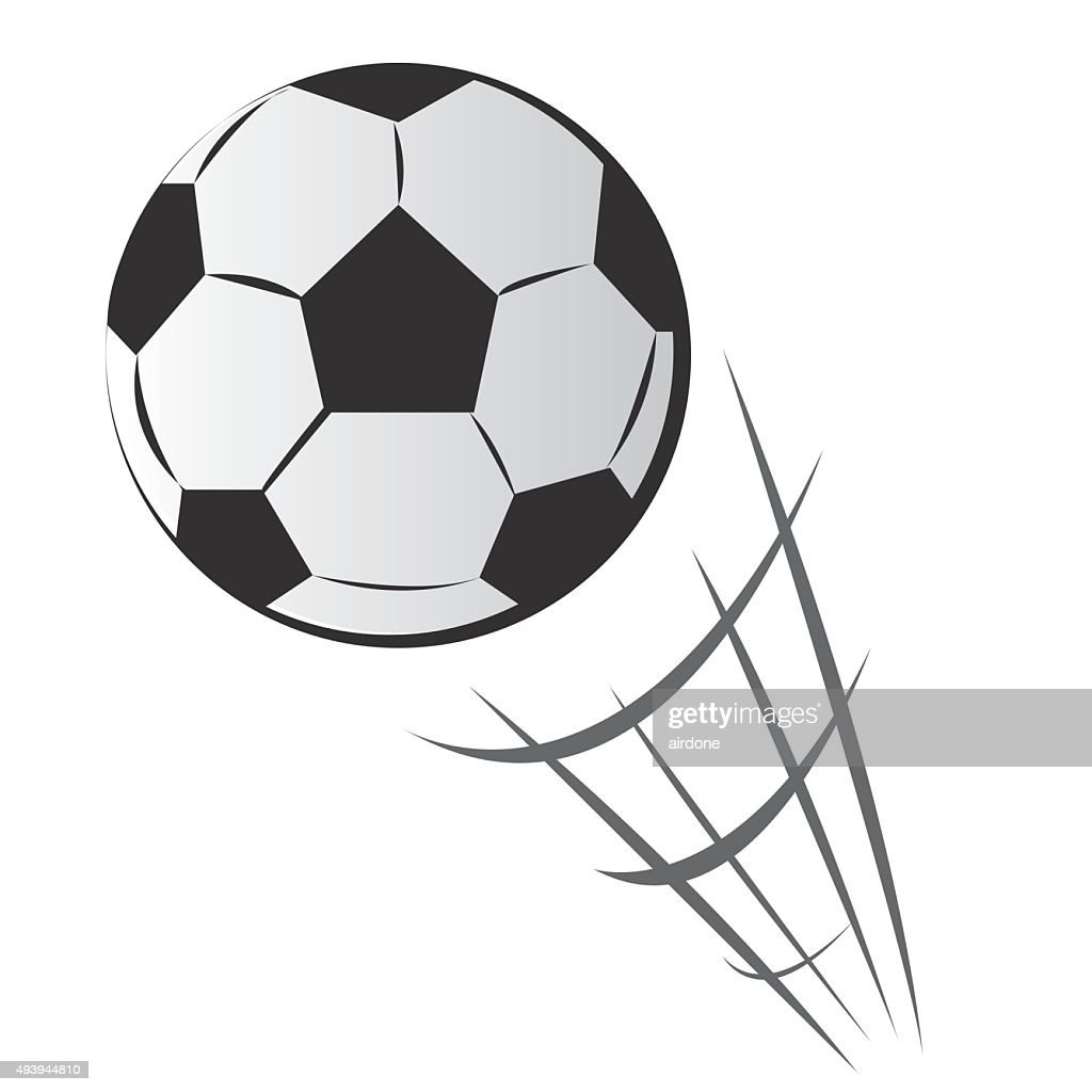 Speeding Soccer Ball Motion