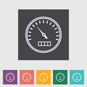 Free Set of Vector Speedometer and Counter Clipart and ...