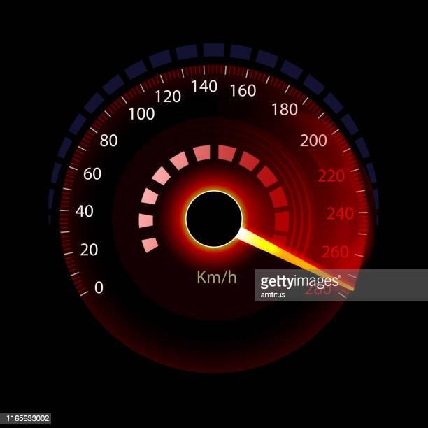 speedometer - speedometer stock illustrations
