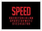 Speedy alphabet