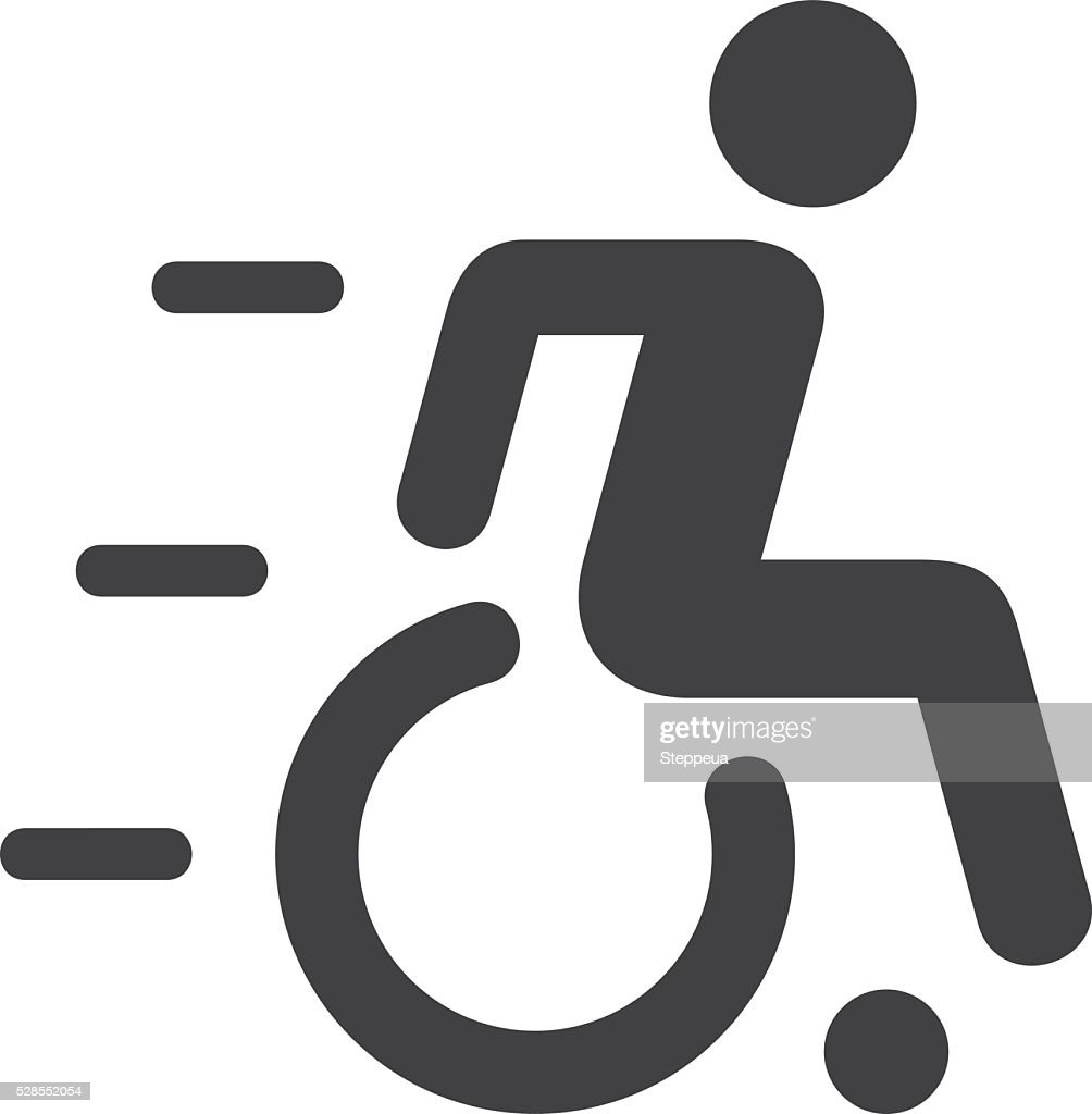 Speedy Wheelchair Sign