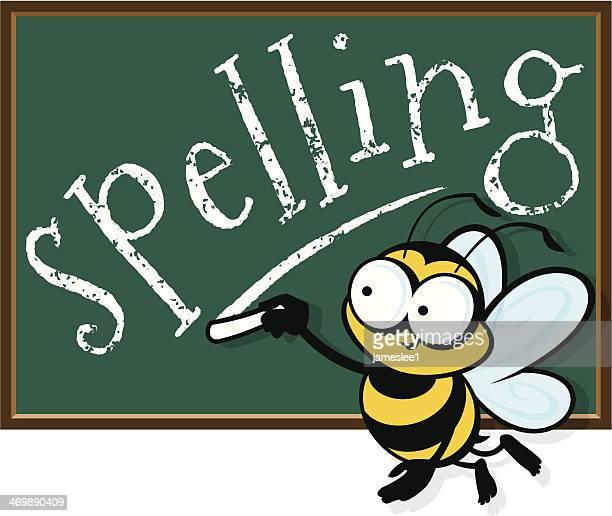 illustrations, cliparts, dessins animés et icônes de concours d'épellation - cours d'orthographe