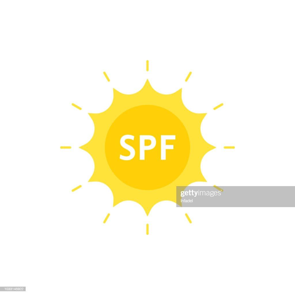 spf like sun protection factor on sun