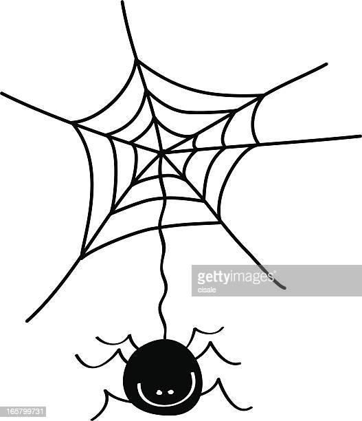 illustrations et dessins anim u00e9s de toile d araign u00e9e vector spider's web free download spider web spider vector