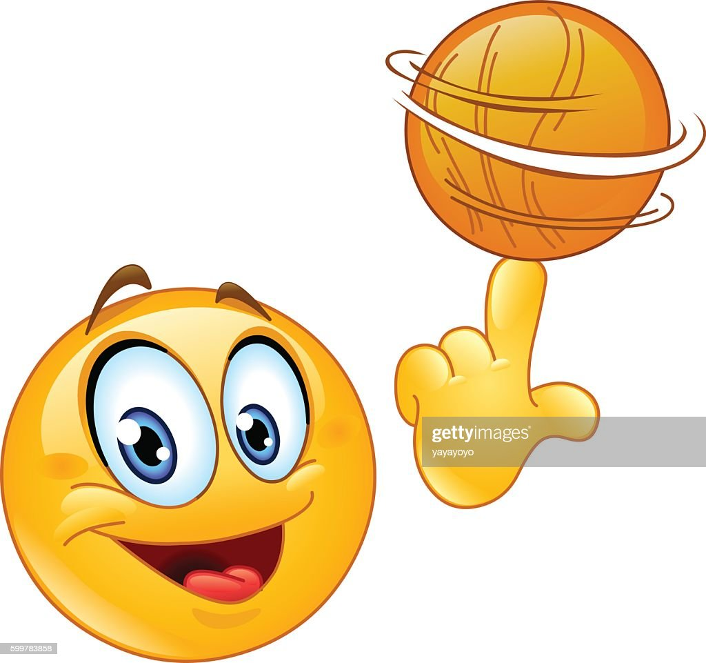 Spinning ball emoticon