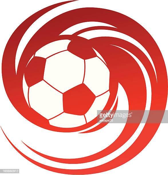 Spinning soccer