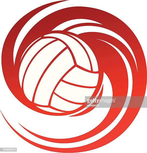 Spinning volleyball