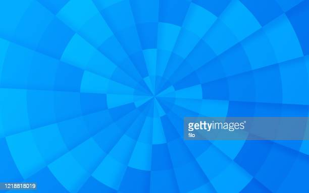 spiral blue abstract background - focus on background stock illustrations