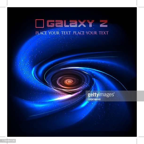 ilustraciones, imágenes clip art, dibujos animados e iconos de stock de galaxia espiral - galaxia espiral